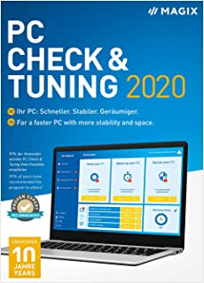 MAGIX PC Check & Tuning - 2020 Version [PC Download]