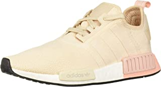 adidas Originals Women's NMD_R1 Running Shoe, Linen/Vapour Pink, 10 M US