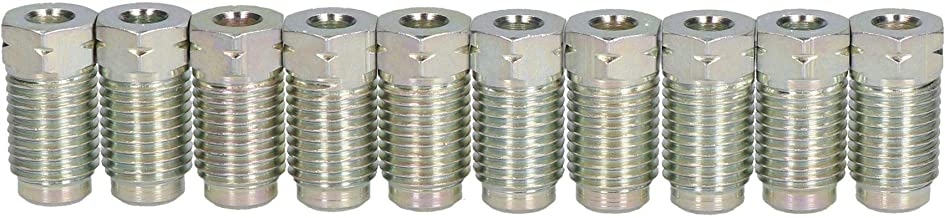 AB Tools-Bond Steel Male Brake Pipe Union Fittings 7/16 x 20 UNF for 3/16