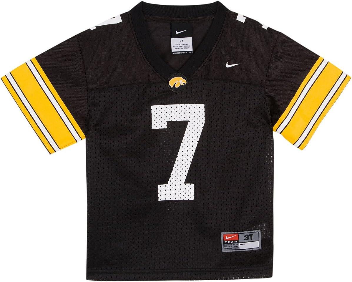 Amazon.com : Nike Iowa Hawkeyes Boy's Replica Football Jersey ...