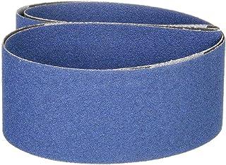 Zirconia Alumina Z Pack of 10 18 Length x 3//4 Width PFERD 49744 Abrasive File Belt 80 Grit
