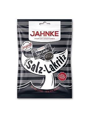 Jahnke alemán salmiak-salt Regaliz/salmiak-salz-lakritz