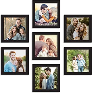 Art Street Art Street Charming Set of 7 Individual Photo Frame (Size - 8X8)