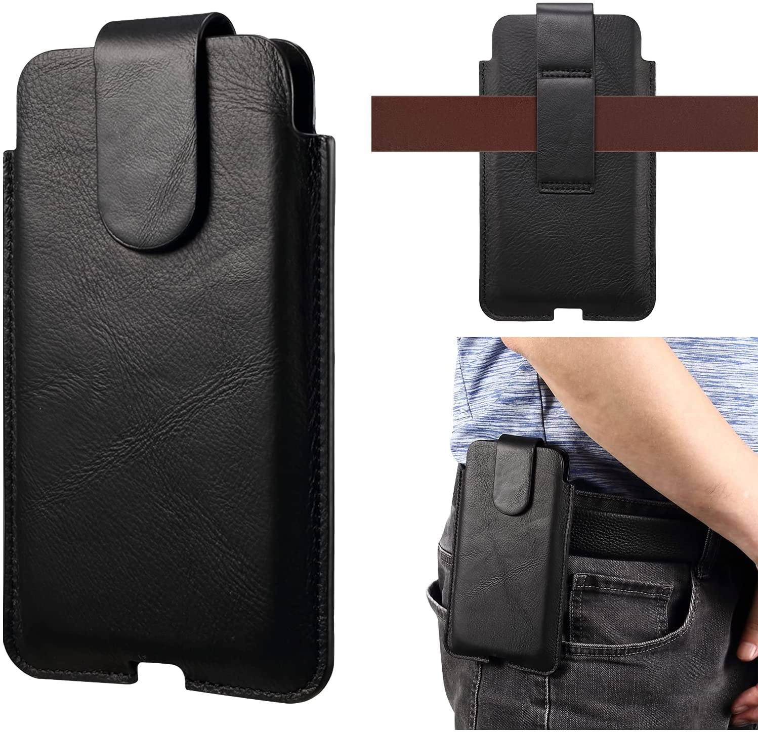 Premium Genuine At the price of surprise Max 80% OFF Leather Pouch Holster Case 10 for Pl Sony Xperia