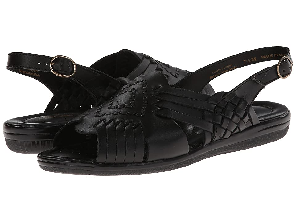 Comfortiva Tela (Black Leather) Women
