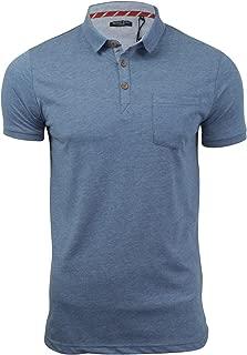 Brave Soul Homme Julius Casual poche poitrine à manches courtes Polo En Coton Top