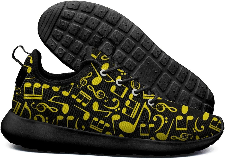 ERSER Music Note Notation Free Running shoes Women