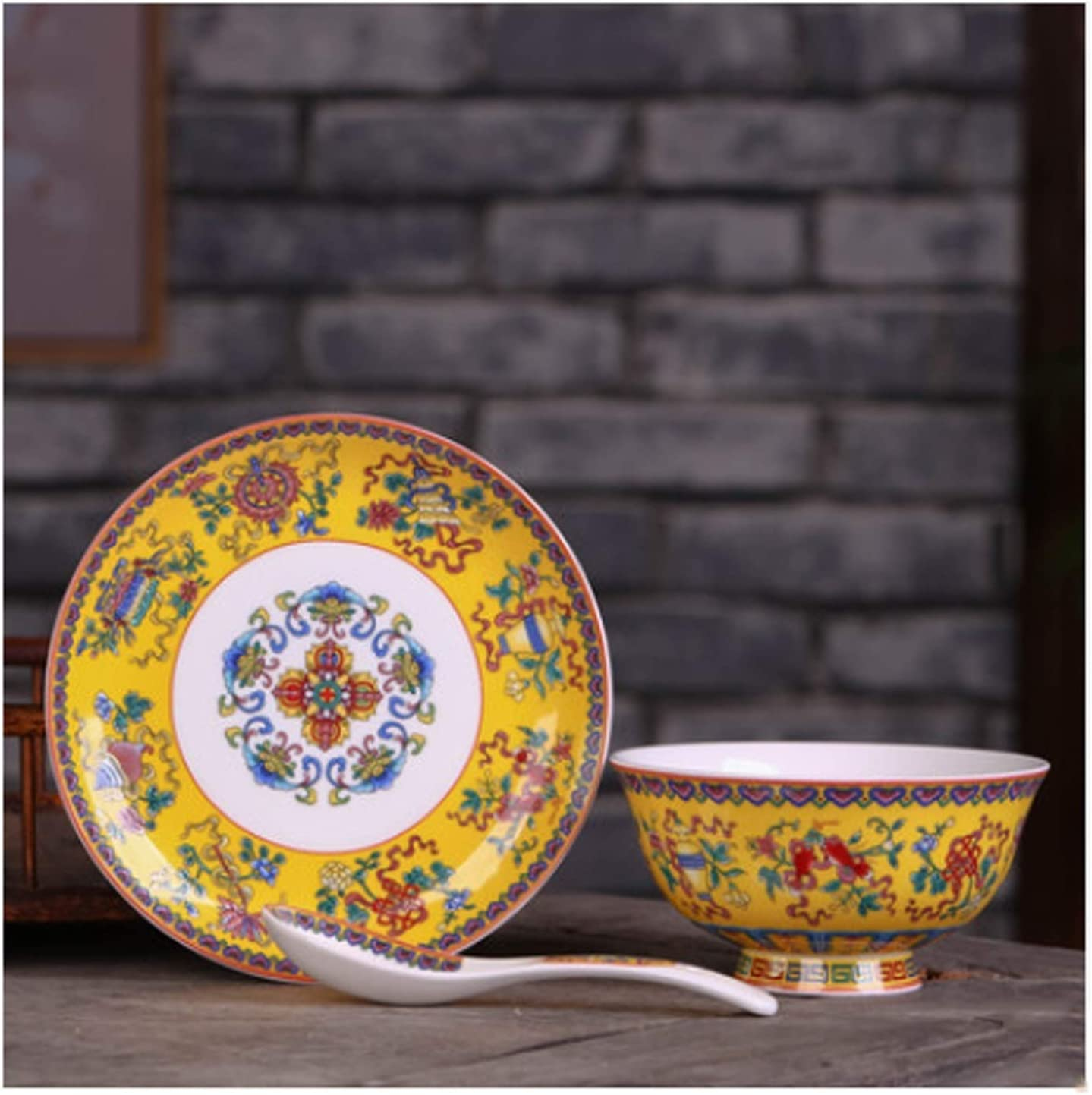 Dessert Spoon Topics on TV Three-piece set of Chinese china an household San Diego Mall bone