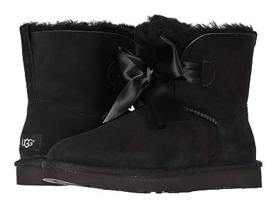 UGG Gita Bow Mini Boot (Black) Women