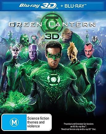 The Green Lantern, 3D BD