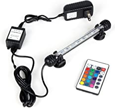 Aquarium Light, Color Changing - Remote Control - Submersible Fish Tank Light, 11 inch - 42.51 inch & 9 LEDs - 63 LEDs Ava...
