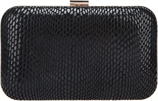 Bonjanvye Clutches Snakeskin Clutch Genuine Leather Evening Purses