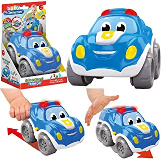 Clementoni Pullback Police Car, Blue, 17179