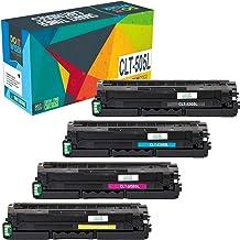 Do it Wiser Compatible Toner Cartridge Replacement for Samsung ProXpress C2620DW C2670FW C2620 C2670 CLT-K505L CLT-C505L C...
