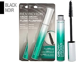 Revlon Grow Luscious Plumping Mascara, Black, 0.34 Fluid Ounce