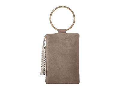 THACKER Nolita-Hammered Clutch (Asphalt) Handbags