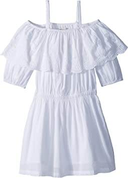 Ella Moss Girl Off-The-Shoulder Peasant Dress (Big Kids)