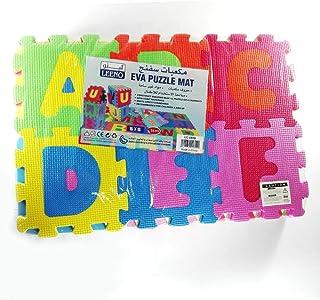 Soft EVA Foam Play Mat Alphabet Numbers & Letters Puzzle Toy 15cmx15cm Tile 36 pcs