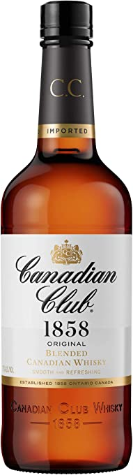 Canadian Club Whisky 700mL