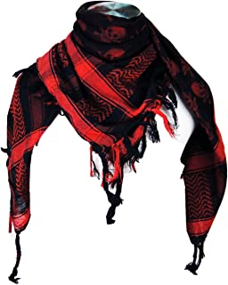 Best red and black skull scarf Reviews