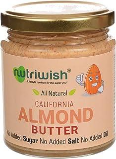 Nutriwish California Almond Butter Bottle, 200 g