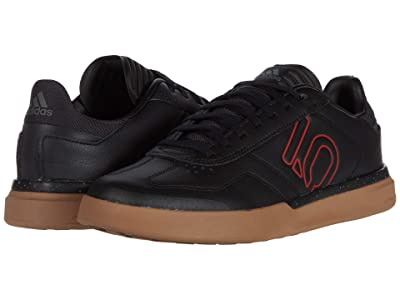 Five Ten Sleuth DLX PU (Black/Scarlet/Gum) Men