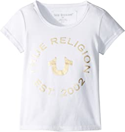 True Religion Kids - Logo Horseshoe Tee (Toddler/Little Kids)