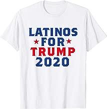 Latinos For Trump 2020 USA Election T-Shirt