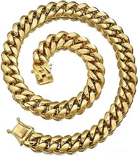 12 inch cuban link chain