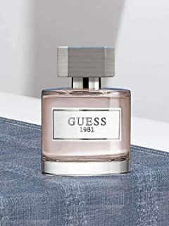 Guess Fragrance 1981 Eau De Toilette for Men, 3.4 Fluid Ounce