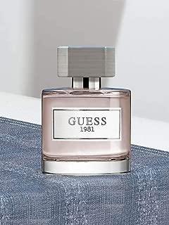 Guess Perfume - Guess 1981 by Eau De Toilette Spray, 100 ml - perfume for men - EDT Spray