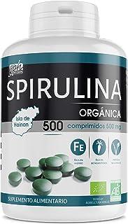 comprar comparacion Spirulina Orgánica 500mg - 500 comprimidos