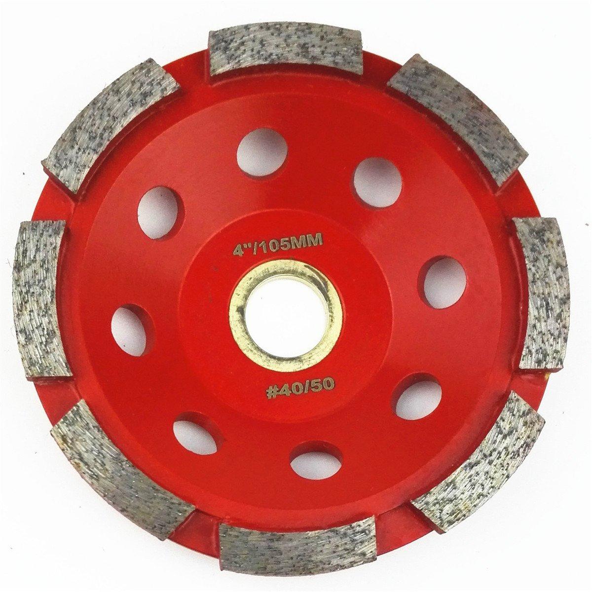 SHDIATOOL 4 Inch Single-Row Concrete Challenge the lowest price of Japan Wheel trend rank Diamond Gran Grinding