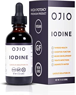 Ojio Iodine Lugol's Solution 2 (2 Fluid Ounces)
