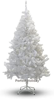 Perfect Holiday Christmas Tree, 4-Feet, PVC Crystal White