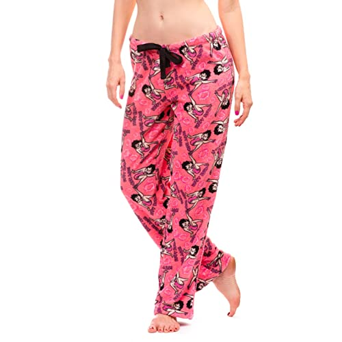 Betty Boop Womens Warm and Cozy Plush Pajama Bottoms
