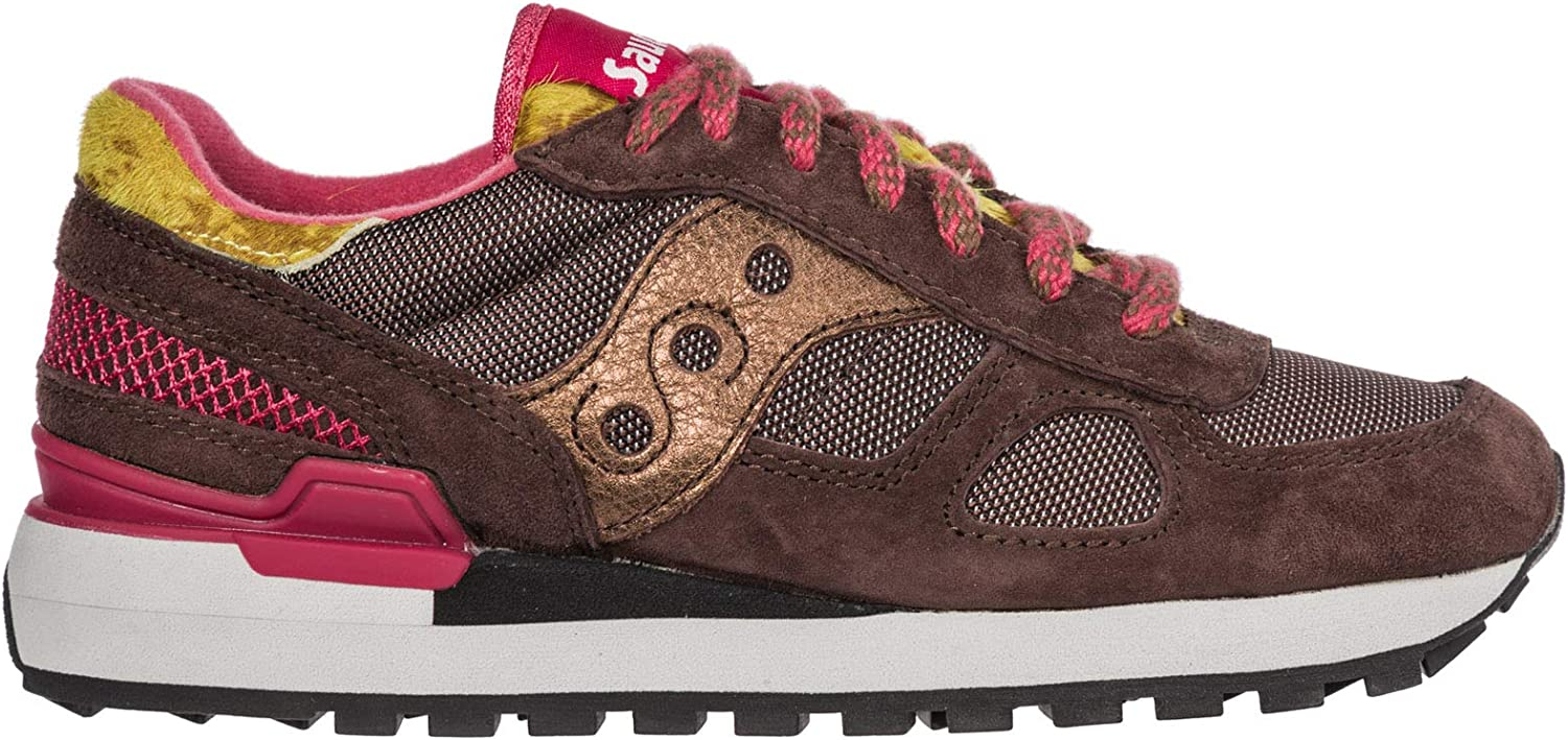 Saucony Women Shadow O' Sneakers Brown Pink
