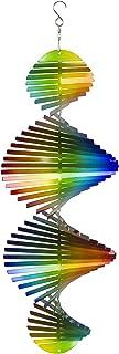 Dawhud Direct Kinetic 3D Helix Metal Garden Wind Spinner