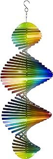 VP Home Kinetic 3D Helix Metal Garden Wind Spinner