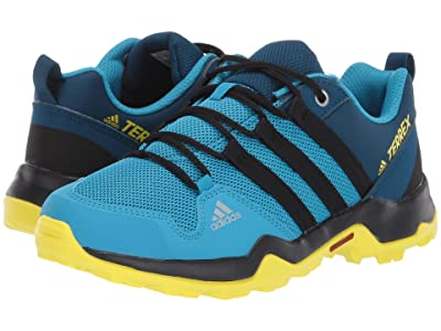 adidas Outdoor Kids Terrex AX2R (Little Kid/Big Kid) (Shock Cyan/Black/Shock Yellow) Boys Shoes
