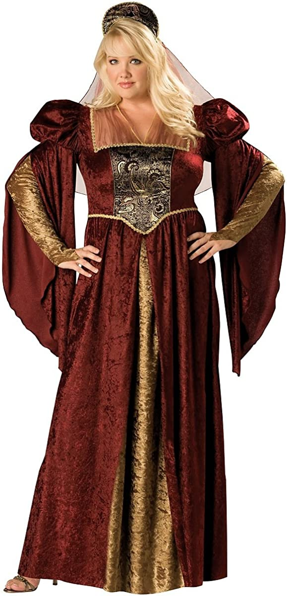 Renaissance Maiden Adult Costume excellence Plus - Fees free!! 3X Size