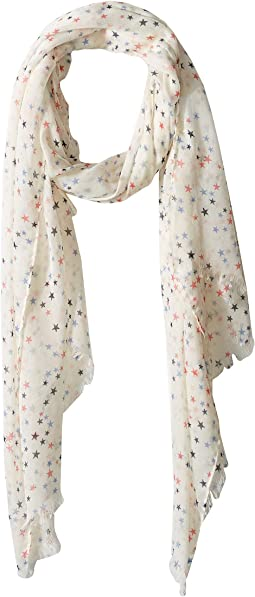 BSS1815 - Woven Multicolor Star Scarf