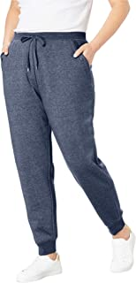 Woman Within Women's Plus Size Better Fleece Jogger Sweatpant