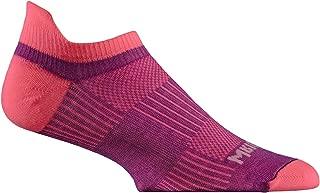 Wrightsock Coolmesh II Tab Running Socks - 2 Pack,  Plum/Pink,  Small
