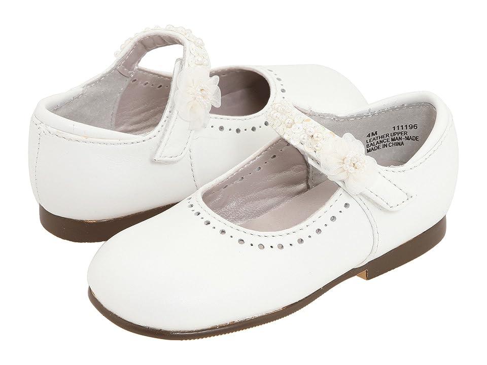 Jumping Jacks Kids Annalise (Toddler/Little Kid) (White Leather) Girls Shoes