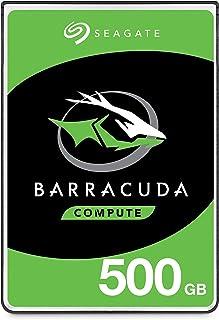 Seagate Barracuda Disque Dur 500Go SATA 6GB/s 5400TR/Min 6,4cm 7mm bauhã ¶ HE 128Mo Cache BLK