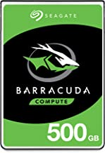 Seagate BarraCuda Mobile Hard Drive 500GB SATA 6Gb/s 128MB Cache 2.5-Inch 7mm (ST500LM030)