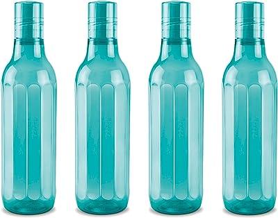 Milton Prism Pet Water Bottle, Set of 4, 1000 ml, Blue
