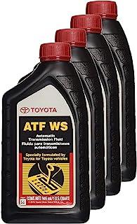 Toyota 00289-ATFWS Lexus & Automatic Transmission Fluid WS ATF العالمي، عبوة من 4 قطع