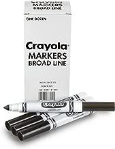 Crayola 12 Count Black Original Bulk Markers